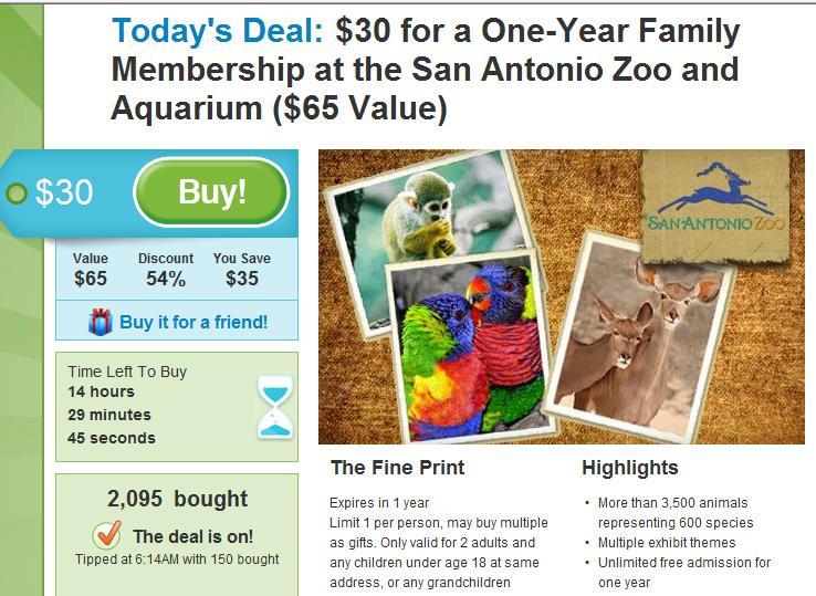 San antonio zoo coupons printable