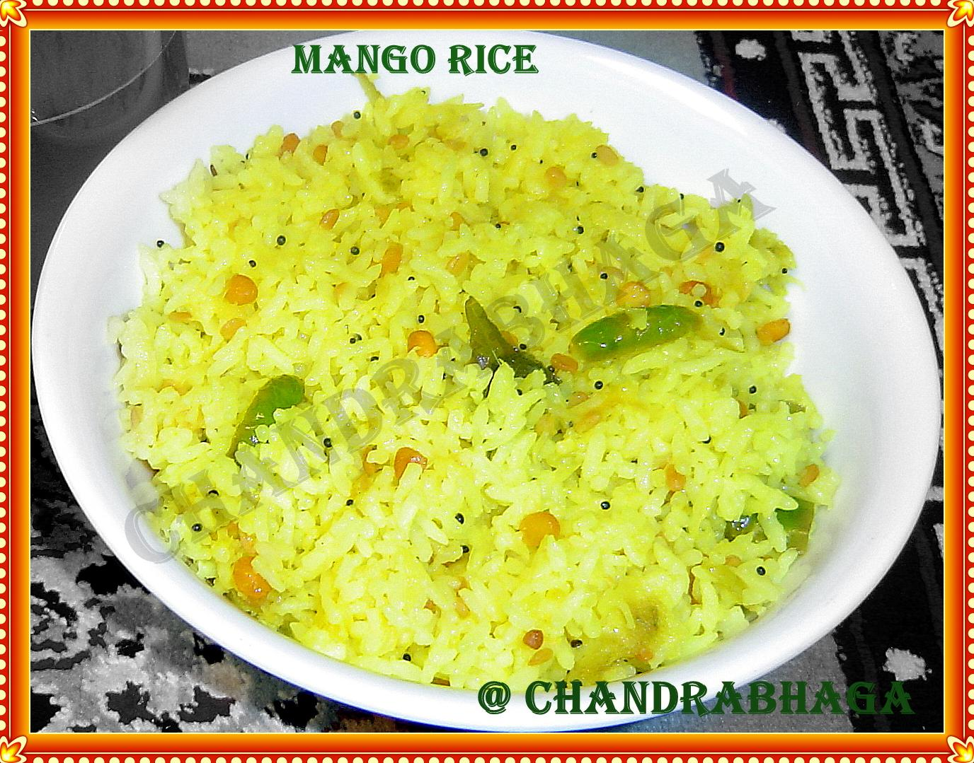 green mango rice madame scientist s not raw mango rice green mango ...
