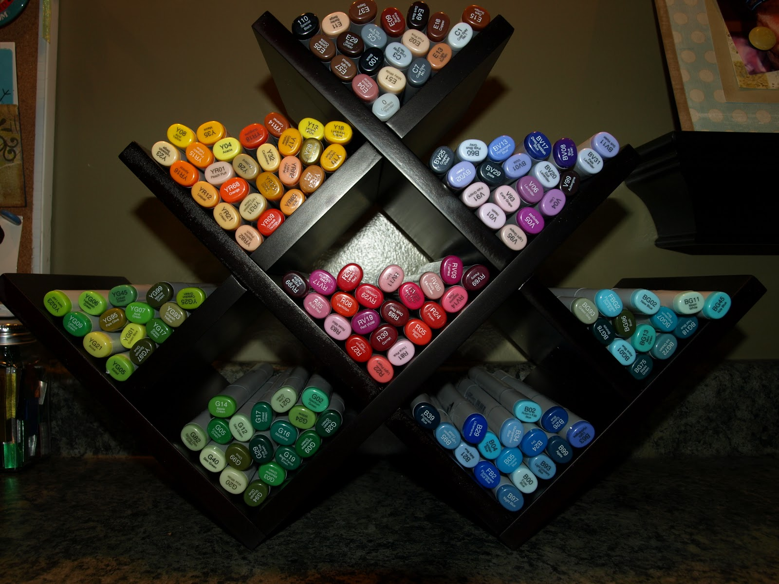 Copic Marker Storage Ideas