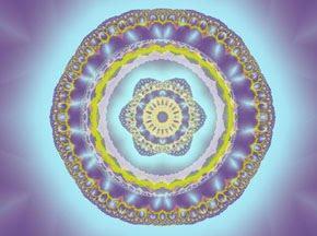 "fractales ""tejidos"" por yahaira"