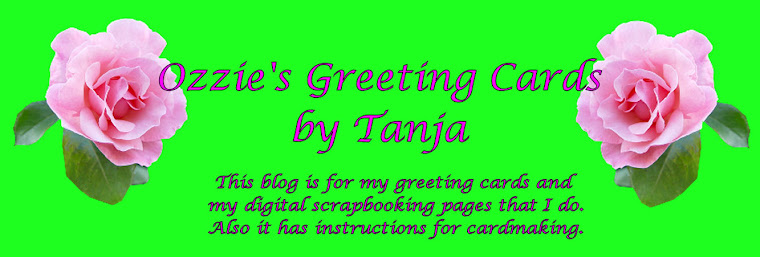 Ozzie's Greeting Cards by Tanja