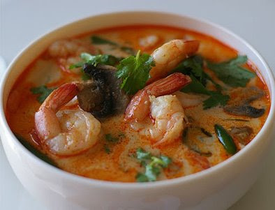 tom yum is usually made with prawns tom yum goong chicken tom yum ...