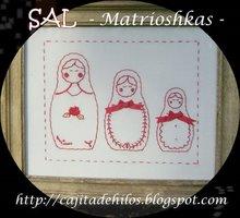 SAL MATRIOSKAS (ORGANIZADO POR BRENDA  +Q.E.D.)