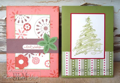 Standard Cards using Stampin' Up! Supplies