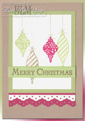 Card made using Stampin' Supplies