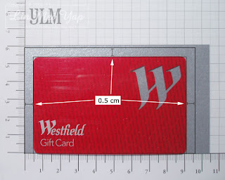 Determine the smallest size cardstock required