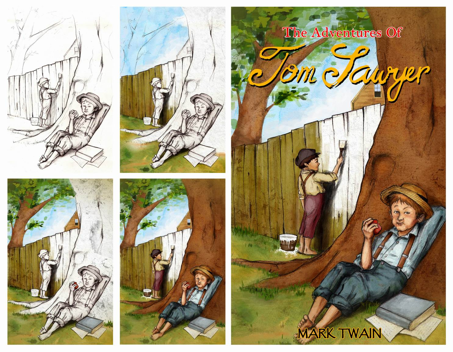 a comparison of the adventures of huckleberry finn and the adventures of tom sawyer by mark twain