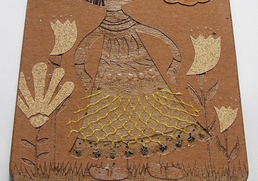 aijung kim  how to make a collagraph
