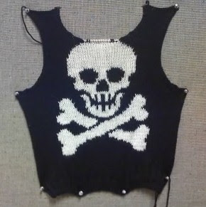 Pirate Sweater Front