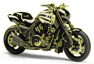 Best Gold Motorcycle