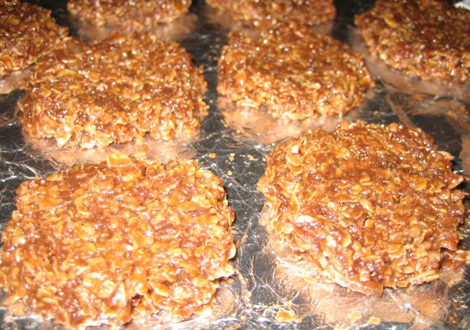 World of Tasty recipes: No Bake Chocolate, Oatmeal and Coconut Cookies