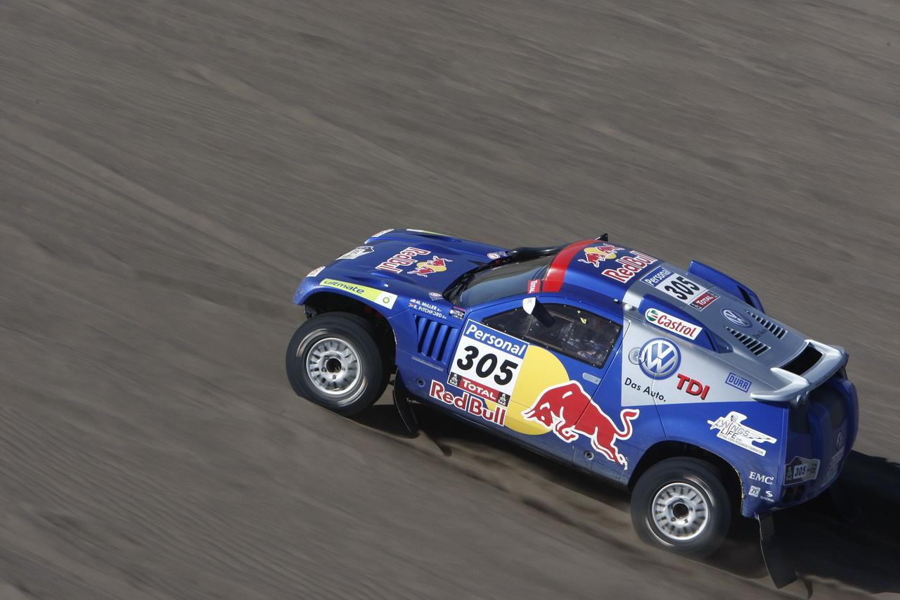 Dakar Race Touareg Volkswagen