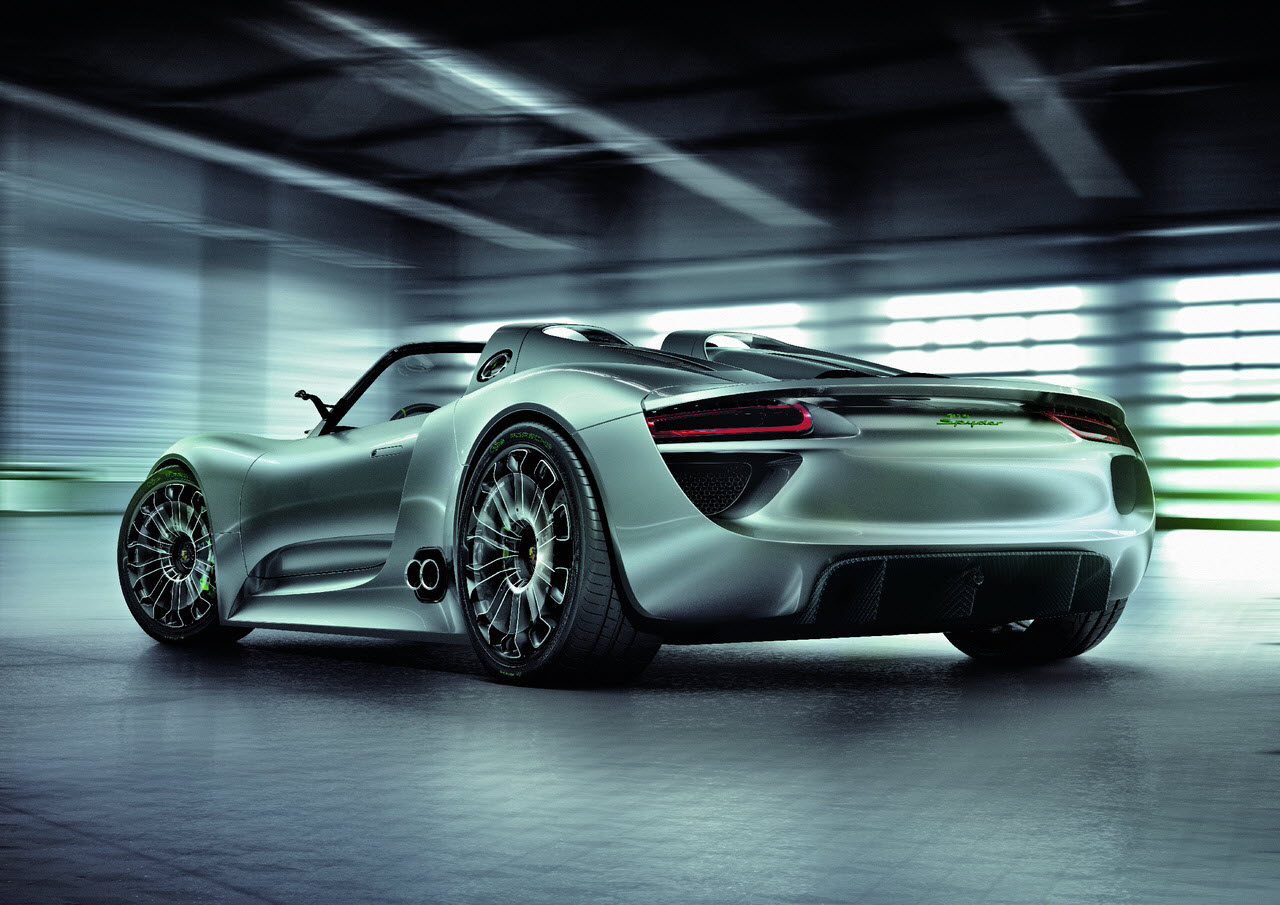 official porsche 918 spyder concept. Black Bedroom Furniture Sets. Home Design Ideas