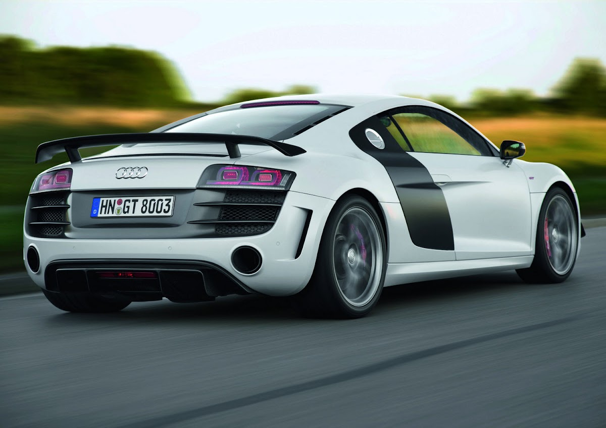 Audi R8 GT New Photos and Pricing