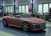 Making the Audi e-tron Spyder