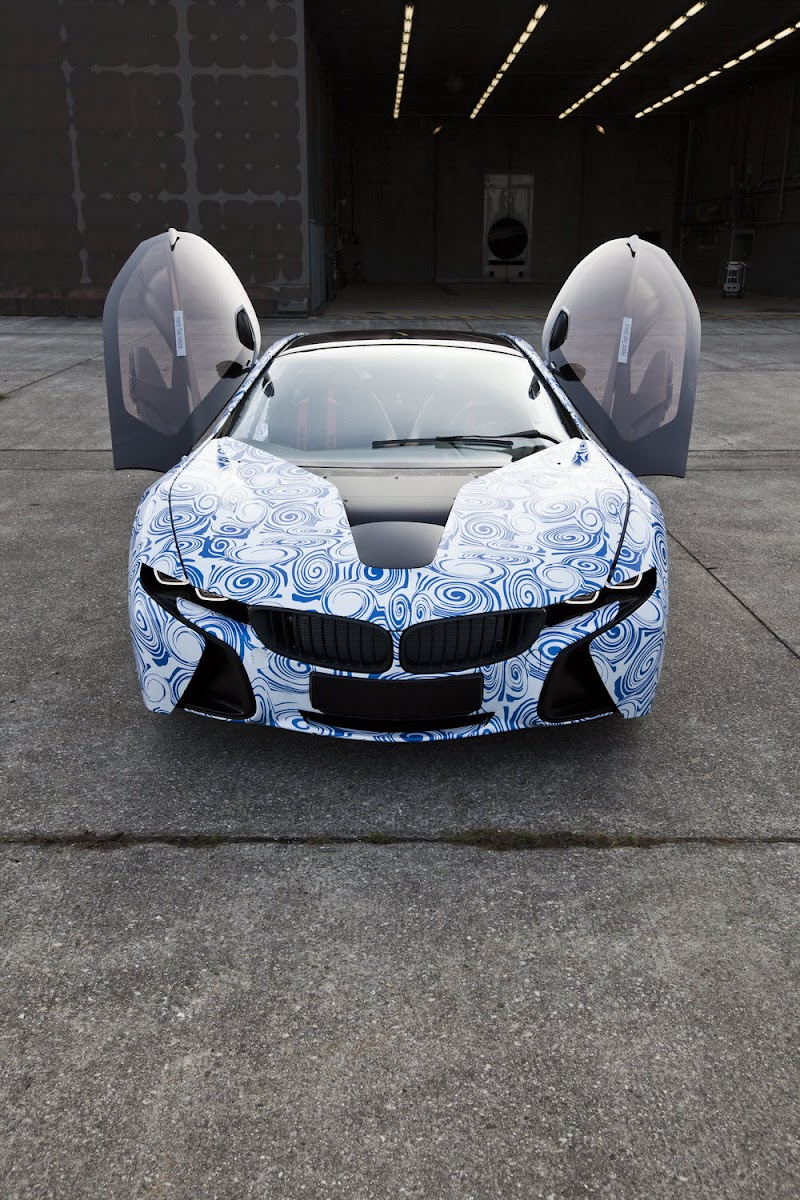 BMW Vision EfficientDynamics prototype
