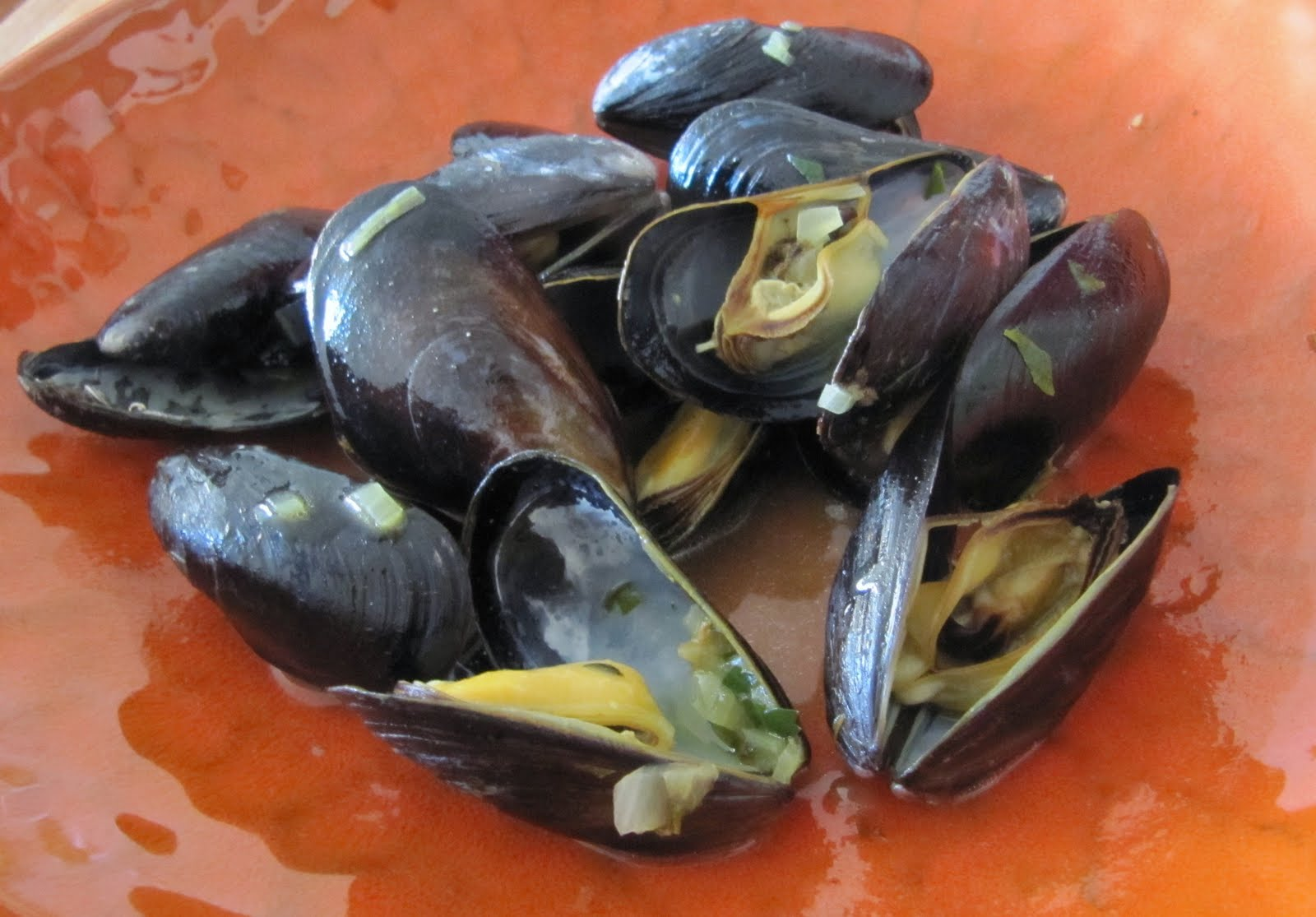 Mussels in a Saffron Broth | Quinces and Lemons