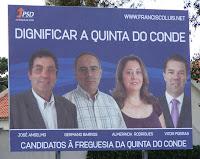 Partido Social Democrata - Quinta do Conde