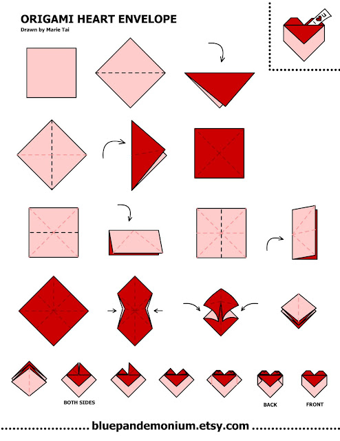 Как сделать с оригами сердце