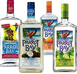 parrot bay rum
