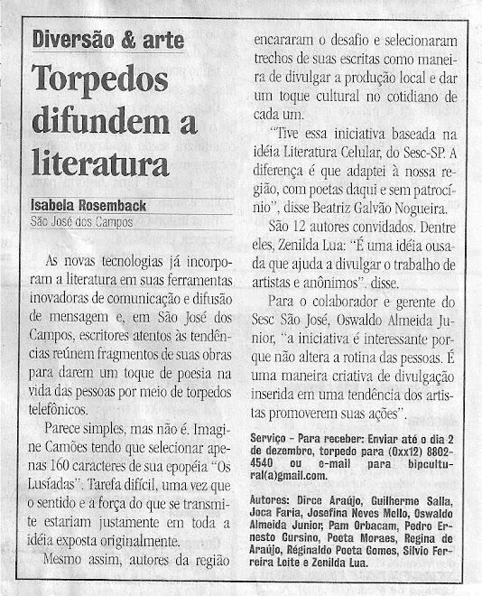 Jornal ValeParaibano 30/11/08