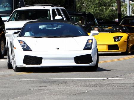 justin bieber driving lamborghini. know that Justin Bieber