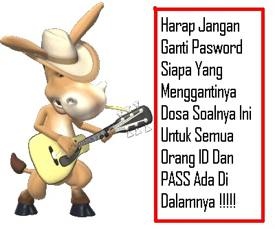 id pb dan password pb gratis