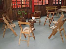 Cadeiras abre e fecha