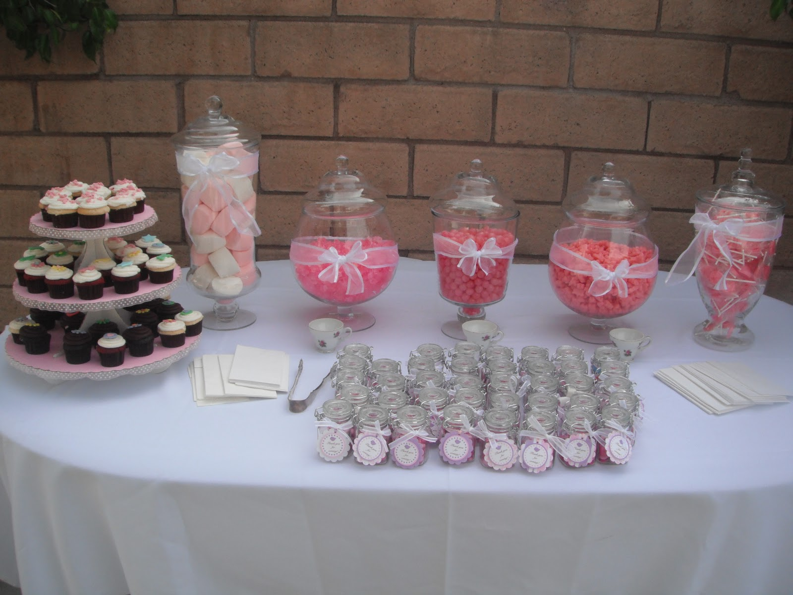 this was the candy table for the guest