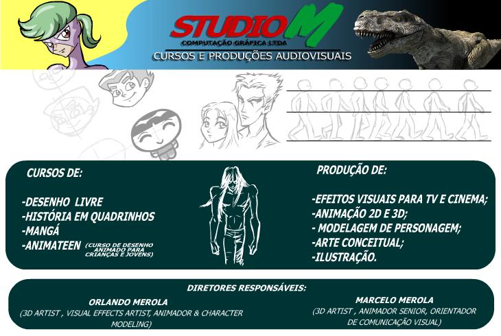 Studio M - Produções audiovisuais e cursos