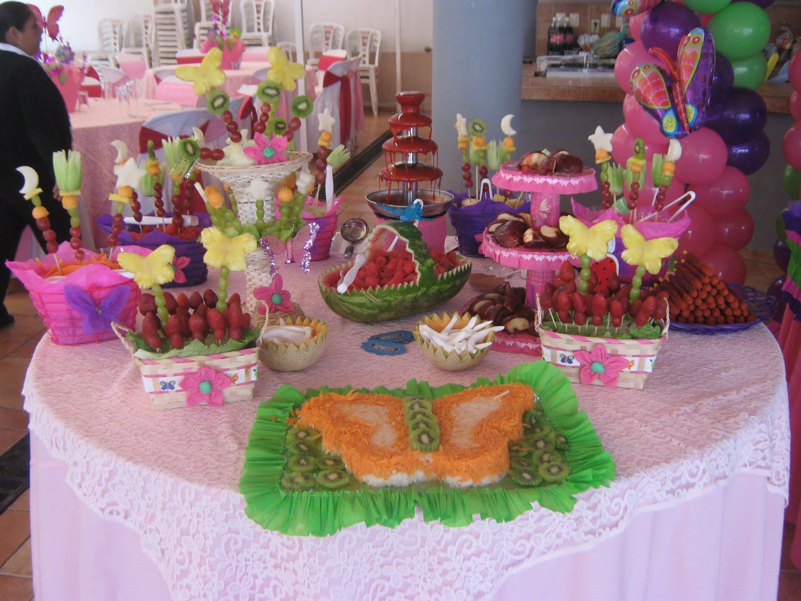 Decoraciones De Mesa Para Fiestas Infantiles
