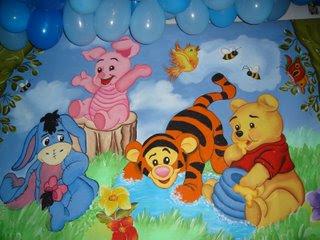 Creaciones infantiles decoracion de winnie the pooh for Decoracion winnie pooh para fiesta infantil