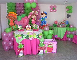 Creaciones Infantiles: Decoracion de Fresita Rosita