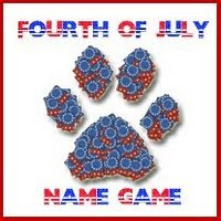July 4th Name Game