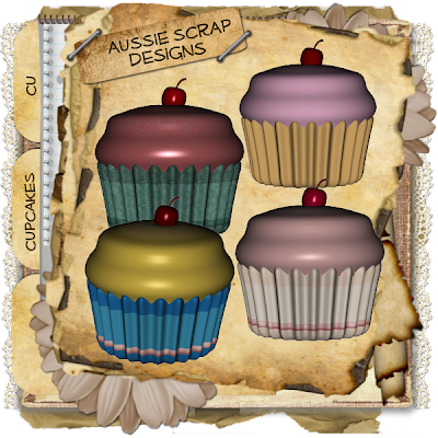Cupcakes - By: Aussie Scrap Designs Cupcakes_Preview