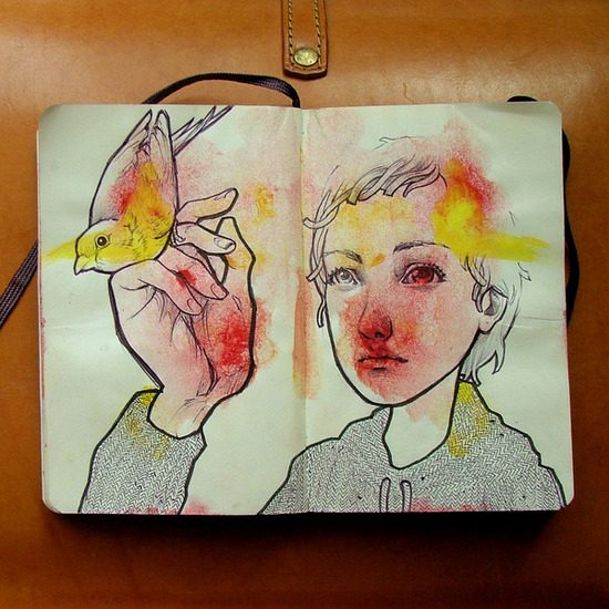 Ilustração com força total