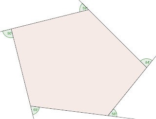 Sola ratio Exterior angle of a 12 sided polygon