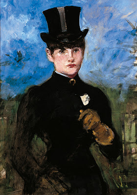 Edouard Manet - Woman in a riding habit full face - Thyssen
