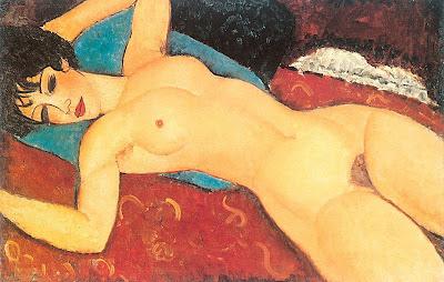 Anedeo Modigliani, Desnudo relajado
