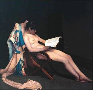 Theodore Roussel, reading Girl