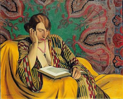 La liseuse, Félix Valloton - 1922