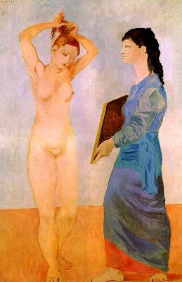 Picasso, La toilette, 1906