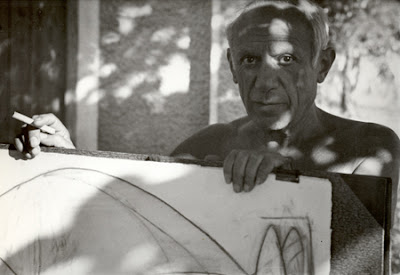 Picasso, Costa azul, 1951