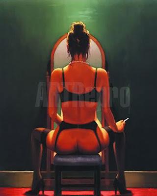 Jack Vettriano, Mirror - Mirror