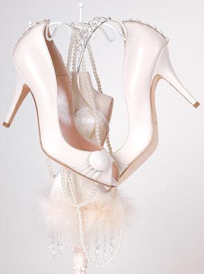 Свадебная обувь для невесты.