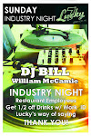 SUNDAYS: Industry Night at Lucky Seven's