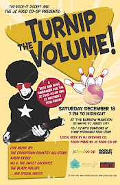 Turnip the Volume | A Rock and Bowl Fundraiser for teh Jersey City Food Co-op