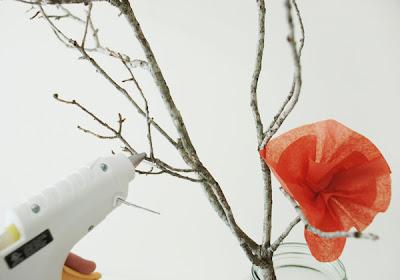 Faça você mesmo: Flores de Papel de Seda