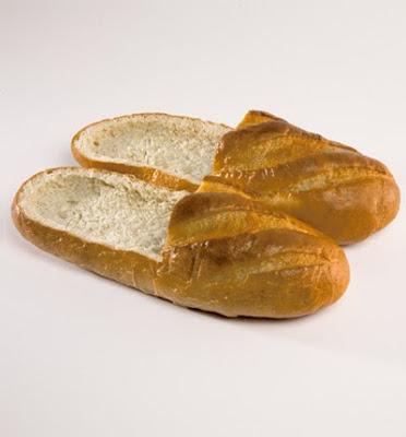 Sapatos de pão