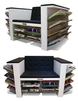 Cadeira de revistas